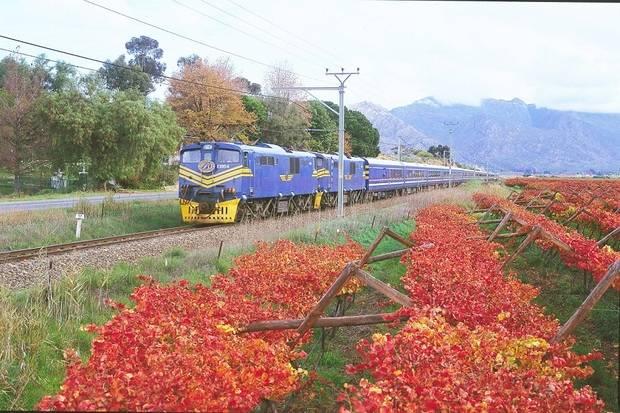 Blue Train Journey: Pretoria to Cape Town
