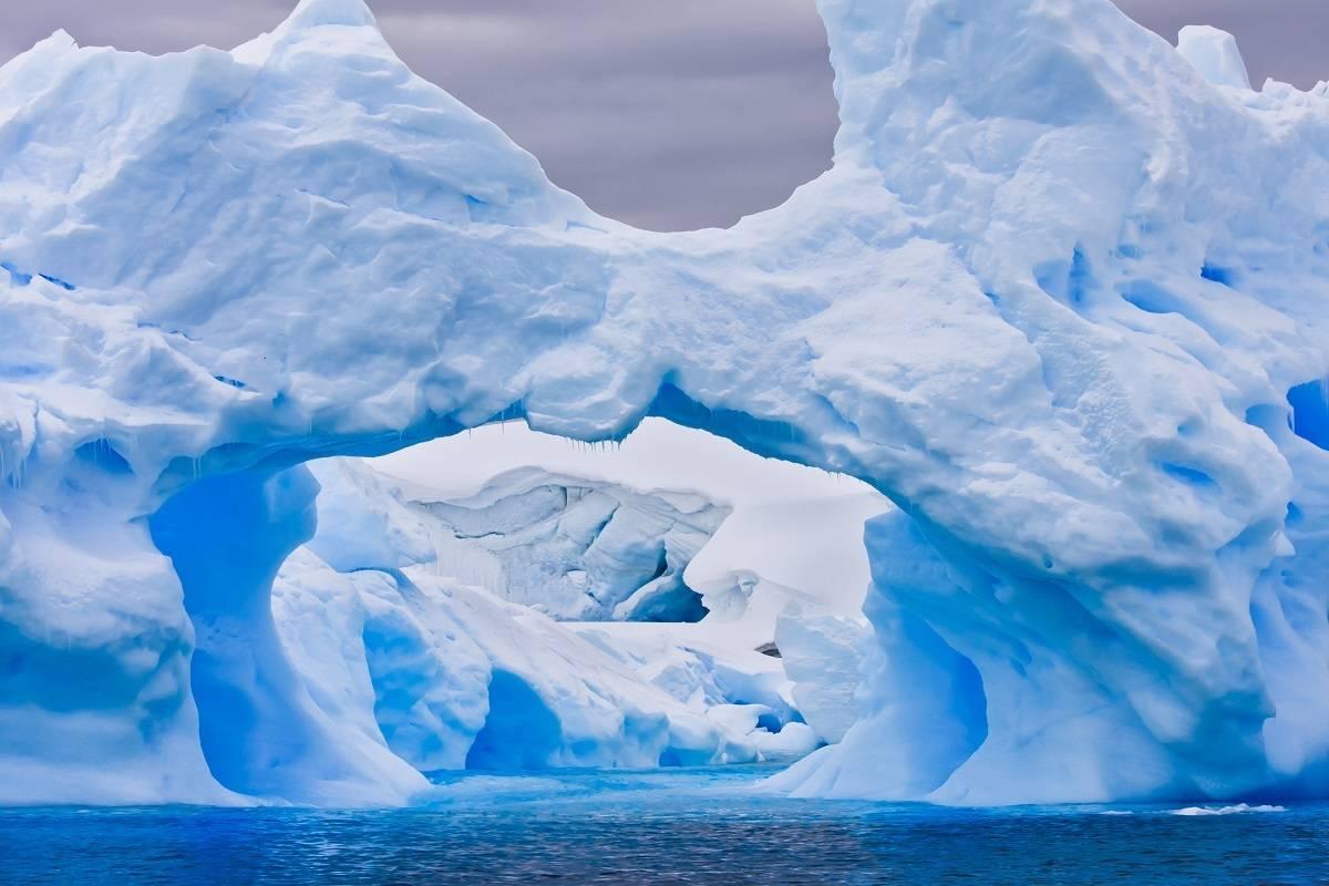 Solar Eclipse Antarctica 2021