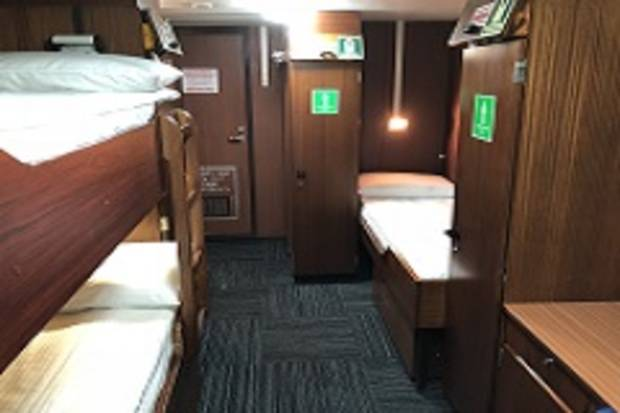Main Deck Triple Cabin