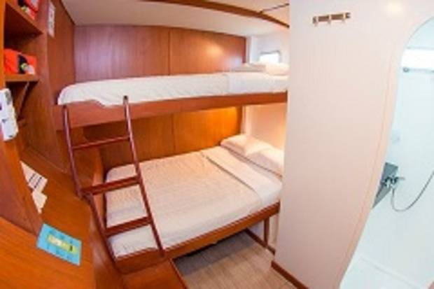 Twin Cabin - Single Bed & Double Bed