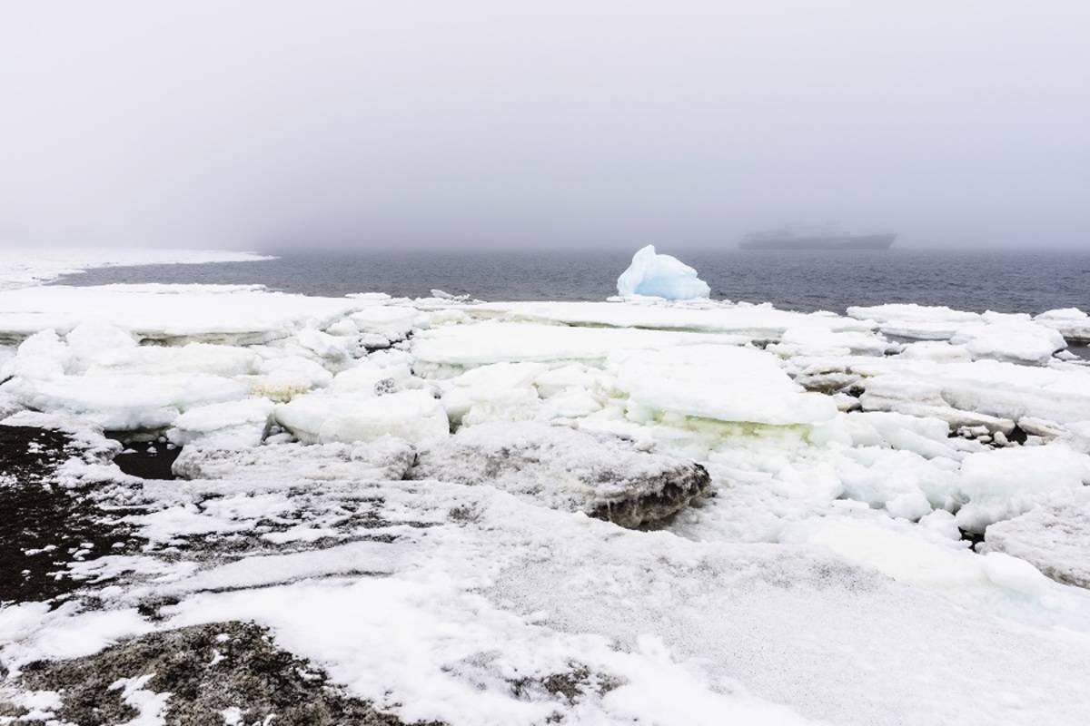 M/S Island Sky: Crossing the Antarctic Circle