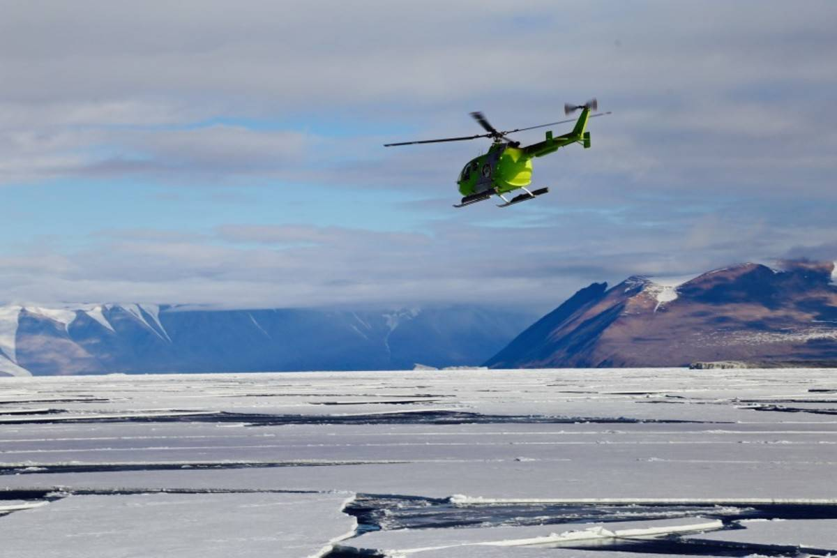 Ross Sea Including Helicopters (end Ushuaia)