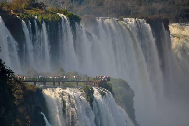 Iconic Iguazu Falls