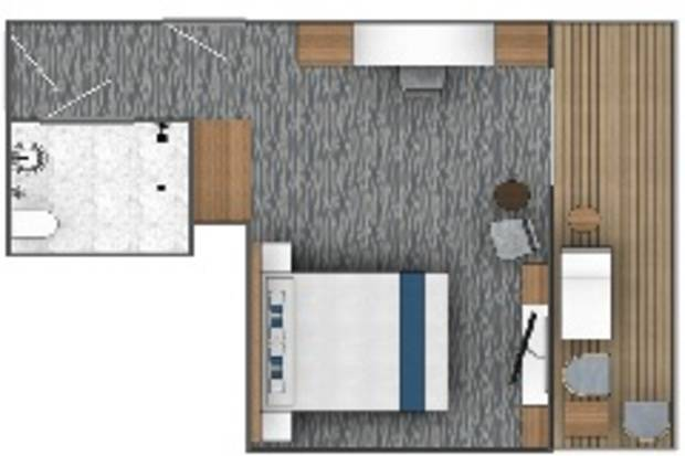 Balcony Suite (B1)