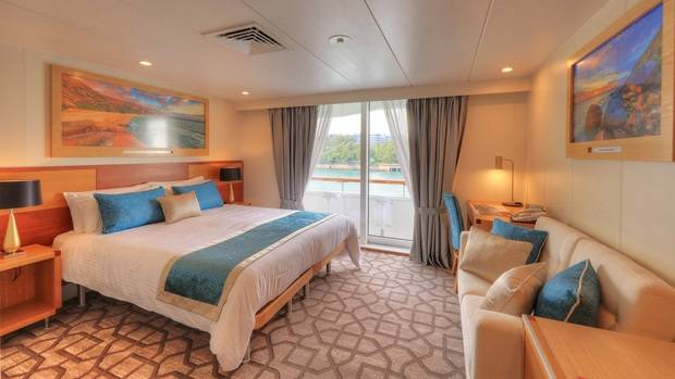 Bridge Deck Balcony Stateroom