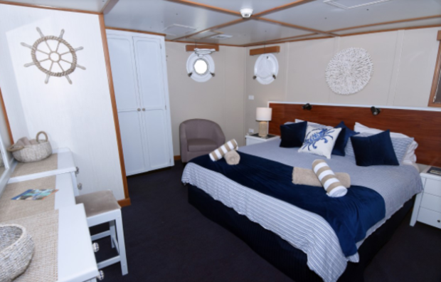 King Bed Deluxe Stateroom