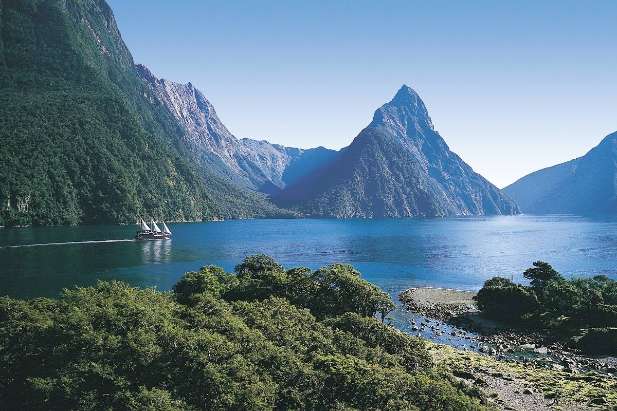 Ultimate New Zealand: Rail, Cruise & Coach