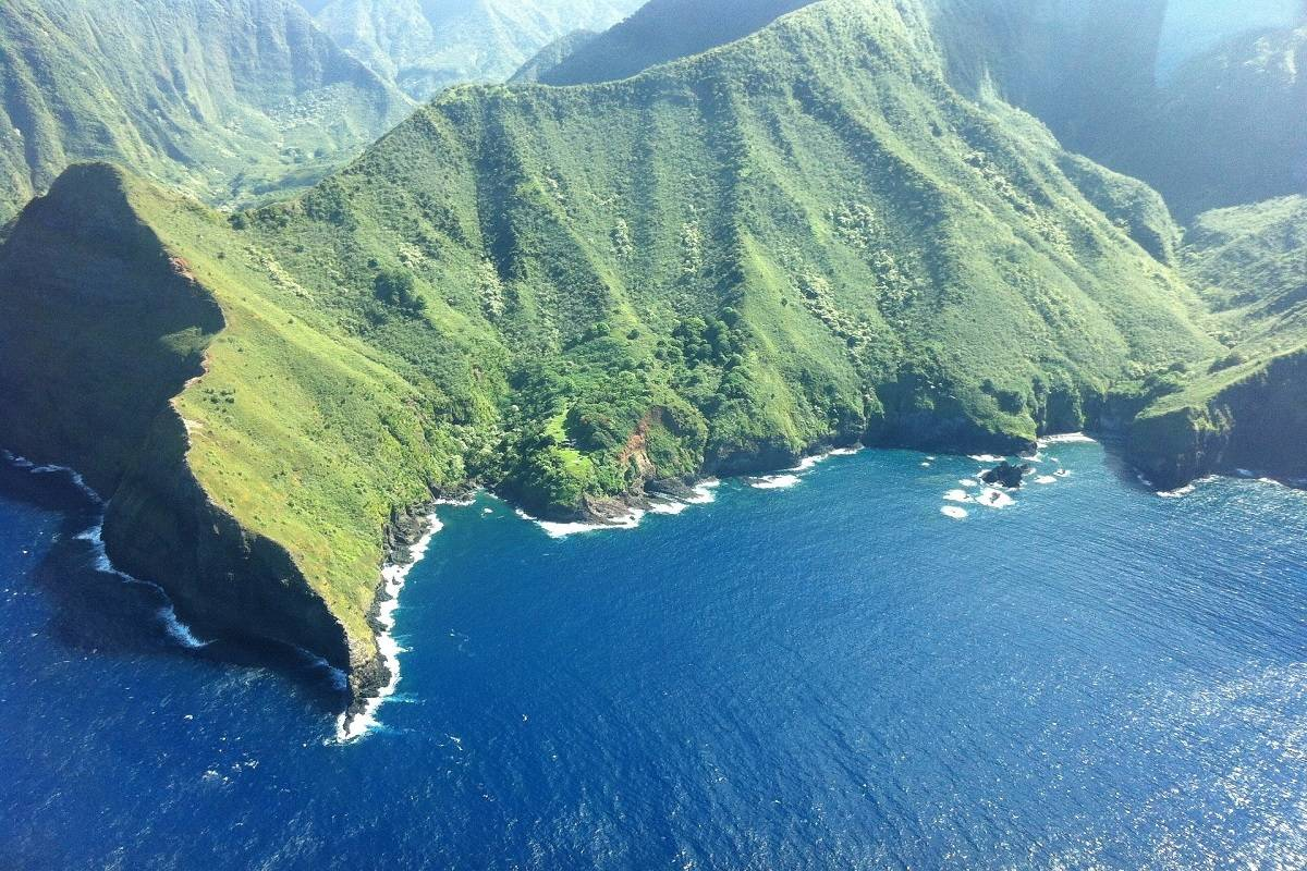 Hawaii Seascapes: Hawai'i (Big Island) to Molokai