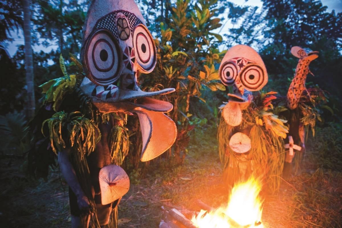 Papua New Guinea's Firedance Festival