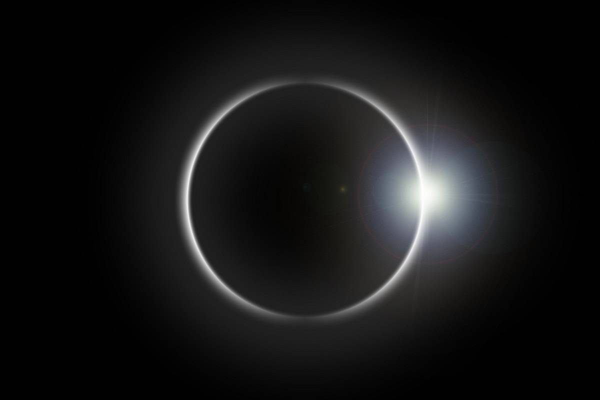 Total Eclipse in the Weddell Sea