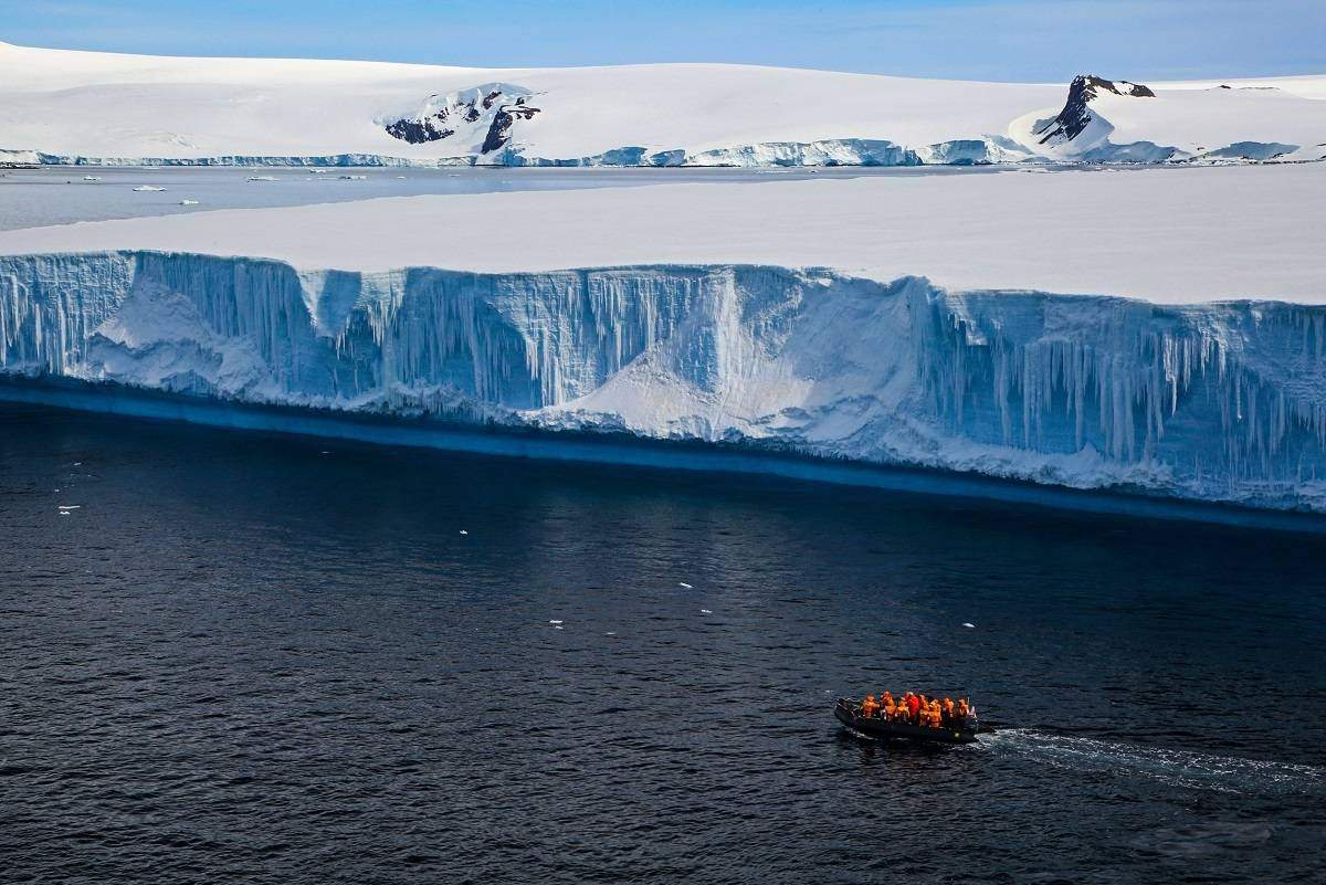 Antarctic Peninsula and the Extreme Weddell Sea
