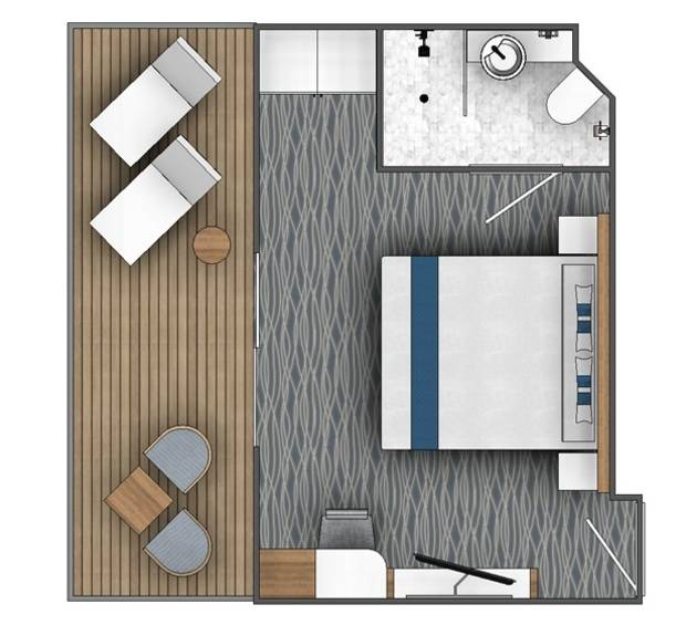 Balcony Suite (B2)