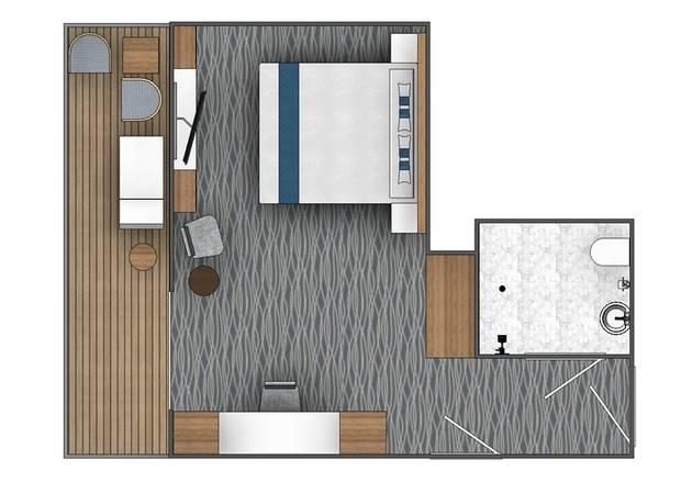 Balcony Suite (B1)